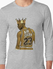 """Michael """"Air"""" Jordan - King Long Sleeve T-Shirt"""