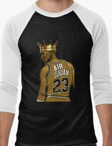 "Michael ""Air"" Jordan - King Men's Baseball ¾ T-Shirt"