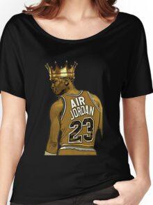 """Michael """"Air"""" Jordan - King Women's Relaxed Fit T-Shirt"""