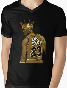 "Michael ""Air"" Jordan - King Mens V-Neck T-Shirt"