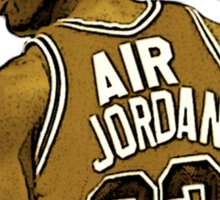 "Michael ""Air"" Jordan - King Sticker"