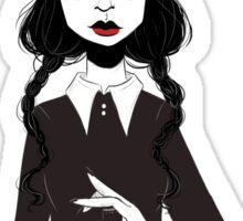 Wednesday Addams - Poison Queen Sticker