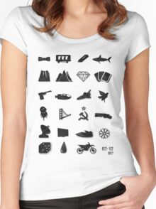 50 Years of James Bond Women's Fitted Scoop T-Shirt