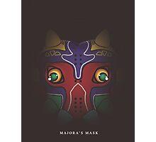 Chibi Majora's Mask Photographic Print
