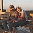 Two Sleepy People By Dawn's Early Light...... by phil decocco