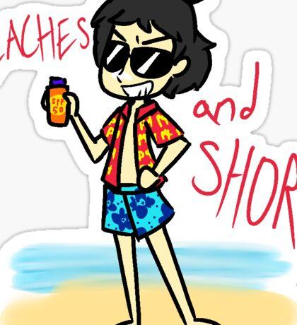Beaches & Shores Sticker