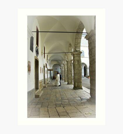 The Sanctuary of Montevergine / Italy (01) Art Print