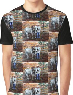 Mr Pratt, The Brahma  Graphic T-Shirt