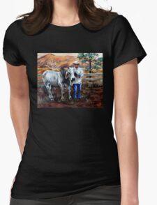 Mr Pratt, The Brahma  Womens Fitted T-Shirt