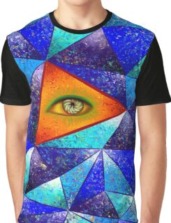 Tethrous V1 - watching triangle Graphic T-Shirt