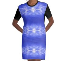 Beautiful Clouds. Art Prints and more Graphic T-Shirt Dress