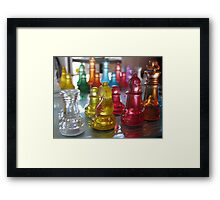 Rainbow Attack Framed Print