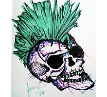 Skelly! Photographic Print