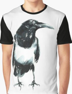 Pied Crow Graphic T-Shirt