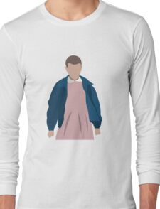Stranger Things Eleven El Minimalist Long Sleeve T-Shirt