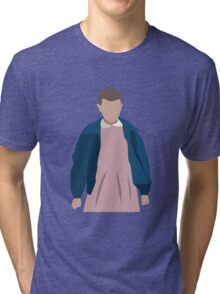Stranger Things Eleven El Minimalist Tri-blend T-Shirt