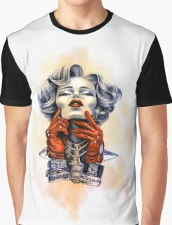 Red Gloves Graphic T-Shirt