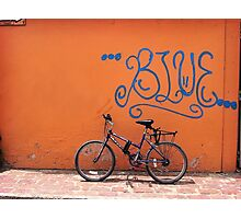 The Blue Ride Photographic Print