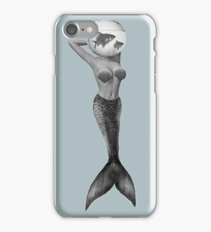 Pisces (♓) BW iPhone Case/Skin