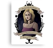 Buffy - Buffy the Vampire Slayer Canvas Print