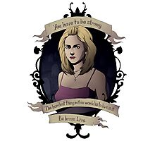 Buffy - Buffy the Vampire Slayer Photographic Print