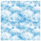 Clouds, Posters, Prints, Wall Print, iPhone Case, iPad Case, Samsung case, Pillows   and Totes by Linda Allan