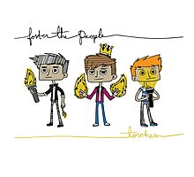 Foster and the People- Torches Photographic Print