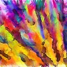 Dawn Of A New Day Abstract by Edward Fielding