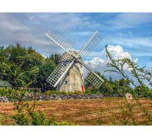 Jamestown Windmill, Rhode Island Photographic Print