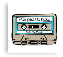 Pumped up kicks - Foster the People Canvas Print