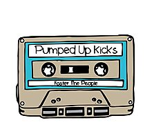 Pumped up kicks - Foster the People Photographic Print