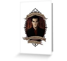 Angel - Angel/Buffy the Vampire Slayer Greeting Card