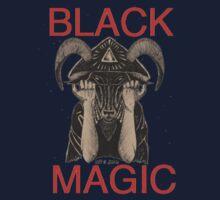 Distressed Black Magic Kids Tee