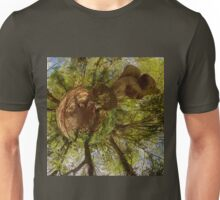 Squirrel Sculpture on path through Prehen Woods,  Derry Unisex T-Shirt