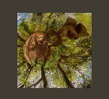 Squirrel Sculpture on path through Prehen Woods,  Derry Unisex T-Shirt