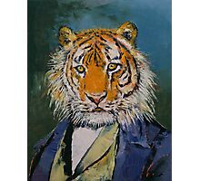 Gentleman Tiger Photographic Print