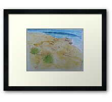 La Jolla Cove 6/29/13 Framed Print
