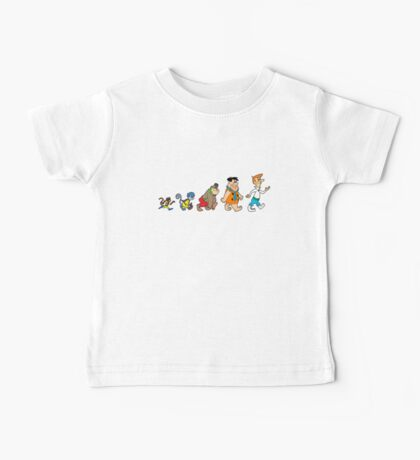 Hanna Barbera Evolution Baby Tee