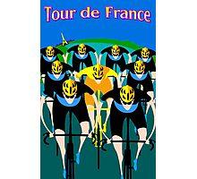"""TOUR DE FRANCE"" Bicycle Racing Advertising Print Photographic Print"