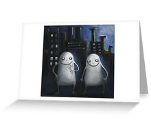 Monster Buddies Greeting Card