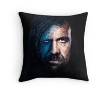 Hound The Steel Man Throw Pillow