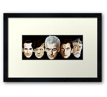 Doctor Who - The Doctors Framed Print