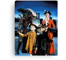 Alien in Mary Poppins Canvas Print
