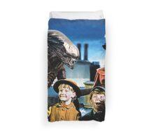 Alien in Mary Poppins Duvet Cover