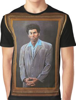 Cosmo Kramer's Portrait Graphic T-Shirt