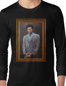 Cosmo Kramer's Portrait Long Sleeve T-Shirt