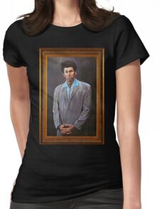 Cosmo Kramer's Portrait Womens Fitted T-Shirt