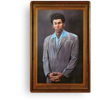 Cosmo Kramer's Portrait Canvas Print