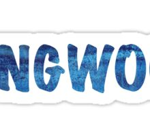 Longwood Graphic Sticker