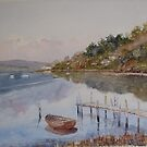 Tranquillity on the Tamar by Muriel Sluce by Wendy Dyer